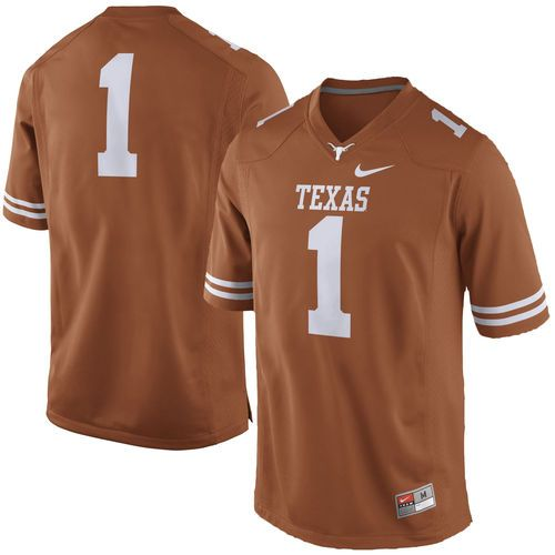 the latest 29029 8d607 No. 1 Texas Longhorns Nike Practice Football Jersey - Texas ...