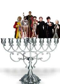 Happy Chanukah! Haha a Doctor for every day!
