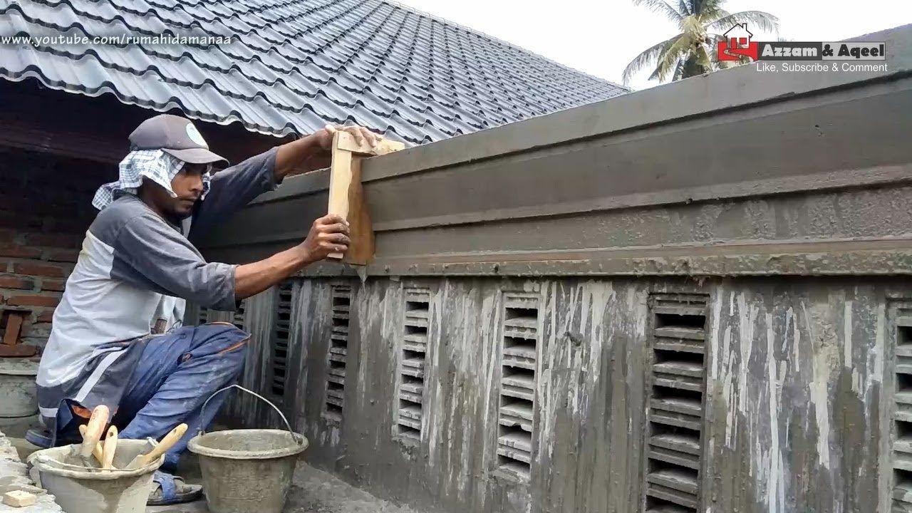 Cara Membuat Profil Beton Carport Rumah Minimalis Eps56 Youtube Rumah Minimalis Rumah Rumah Indah