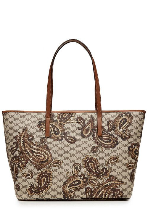 0d3f42a82178 MICHAEL MICHAEL KORS Emry Large Heritage Paisley Tote. #michaelmichaelkors # bags #lining #hand bags #tote #cotton #