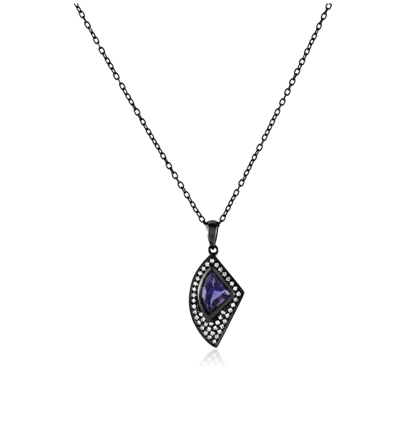 Amethyst Shark Tooth Pendant #mayson #stoneandstrand #introducing #new #pendant #amethyst #sharktooth #purple #jewelry