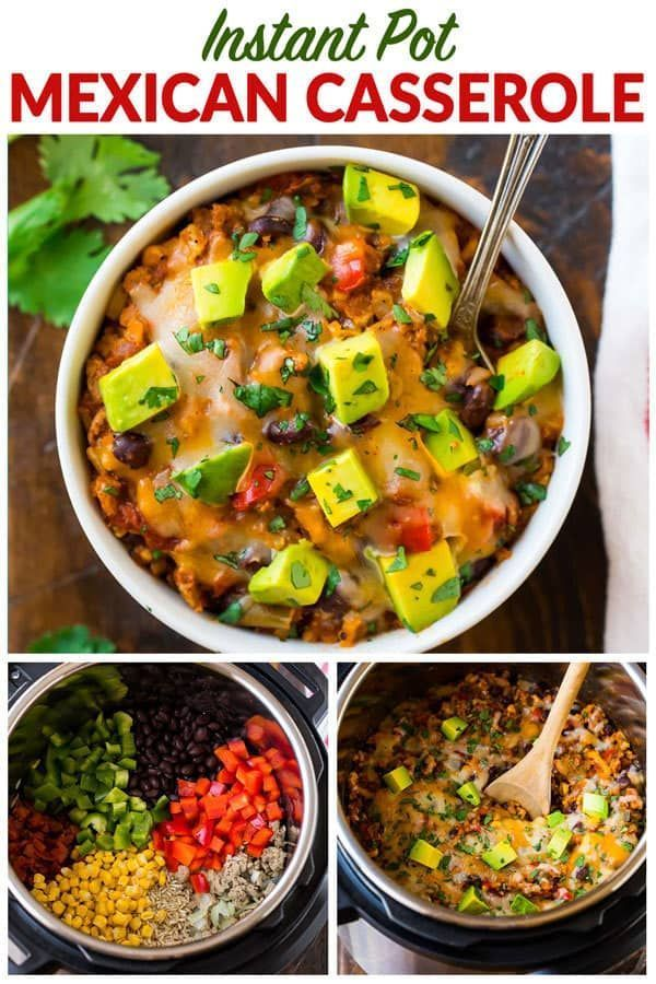 Photo of Instant Pot Mexican Casserole