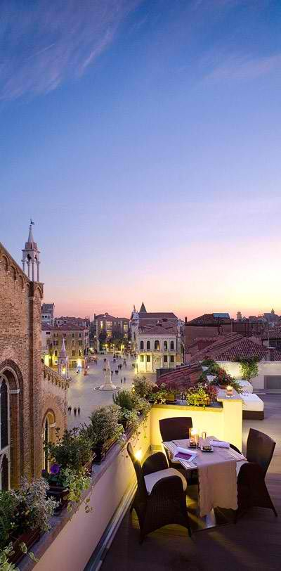 Venice, Italy // rooftop