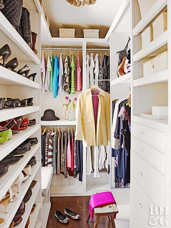 6 clues it 39 s time to reorganize your closet bhg 39 s best. Black Bedroom Furniture Sets. Home Design Ideas