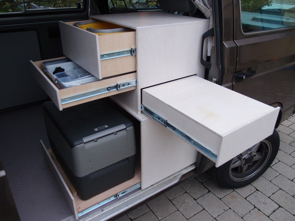 das vw bus forum mein k chenschr nkchen camper idee n. Black Bedroom Furniture Sets. Home Design Ideas