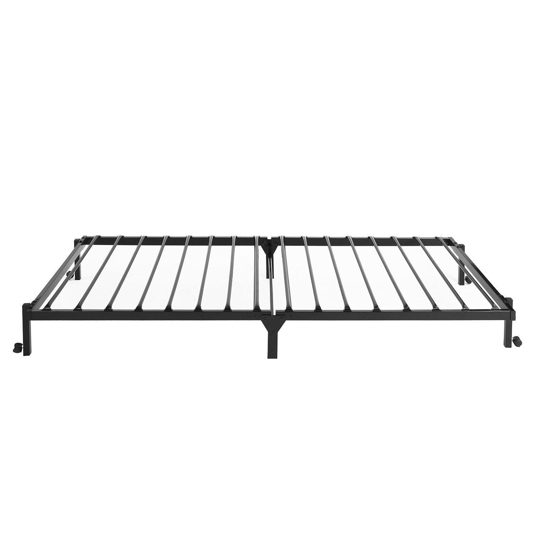Greenforest Folding Bed Base Frame Twin Size Foldable Metal
