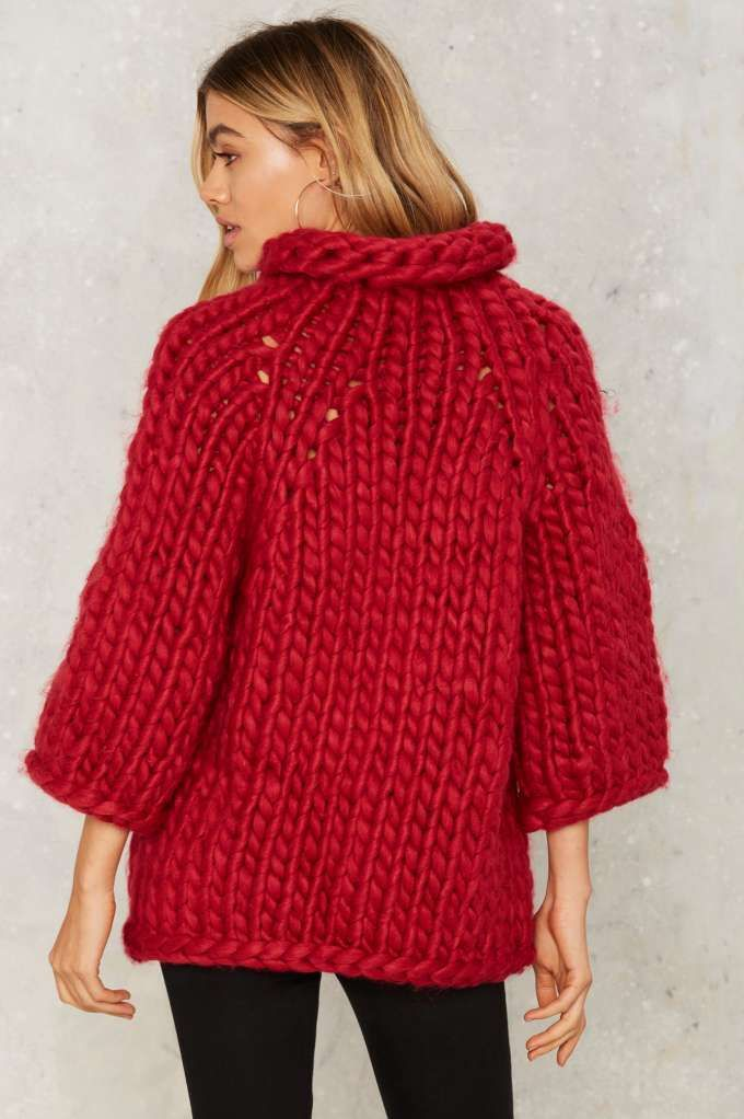 Heavy Knitter Chunky Sweater - Clothes   Best Sellers   Last Chance   Knits   Pullover