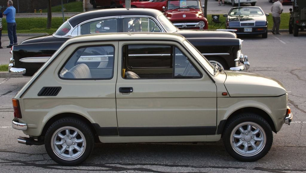 1974 Fiat 126 2 Door Fiat 126 Fiat Fiat Cars