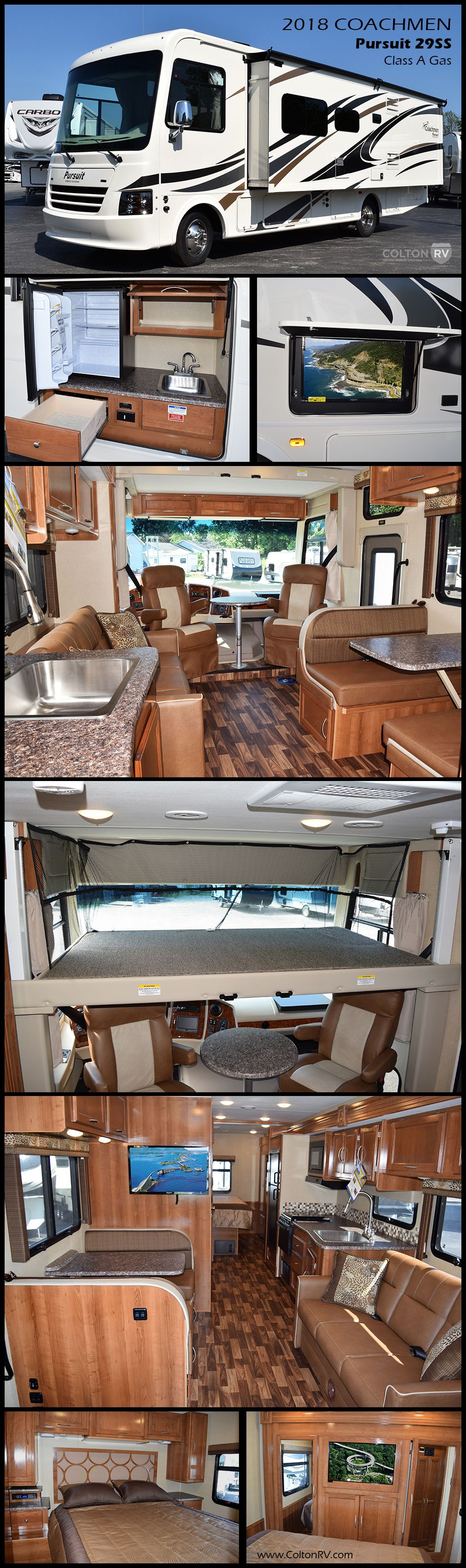 Take A Look At This 2018 Coachmen Pursuit 29ss Class A Gas