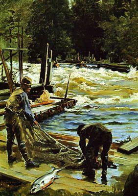 Gunnar Berndtson - Pescarii