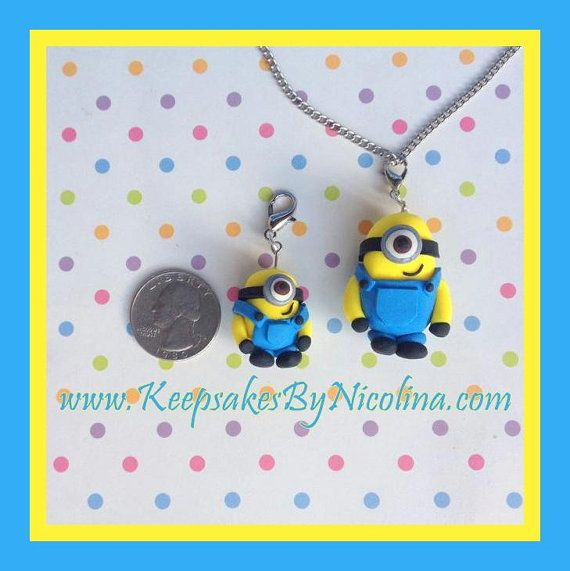 Minion Charm and or Pendant