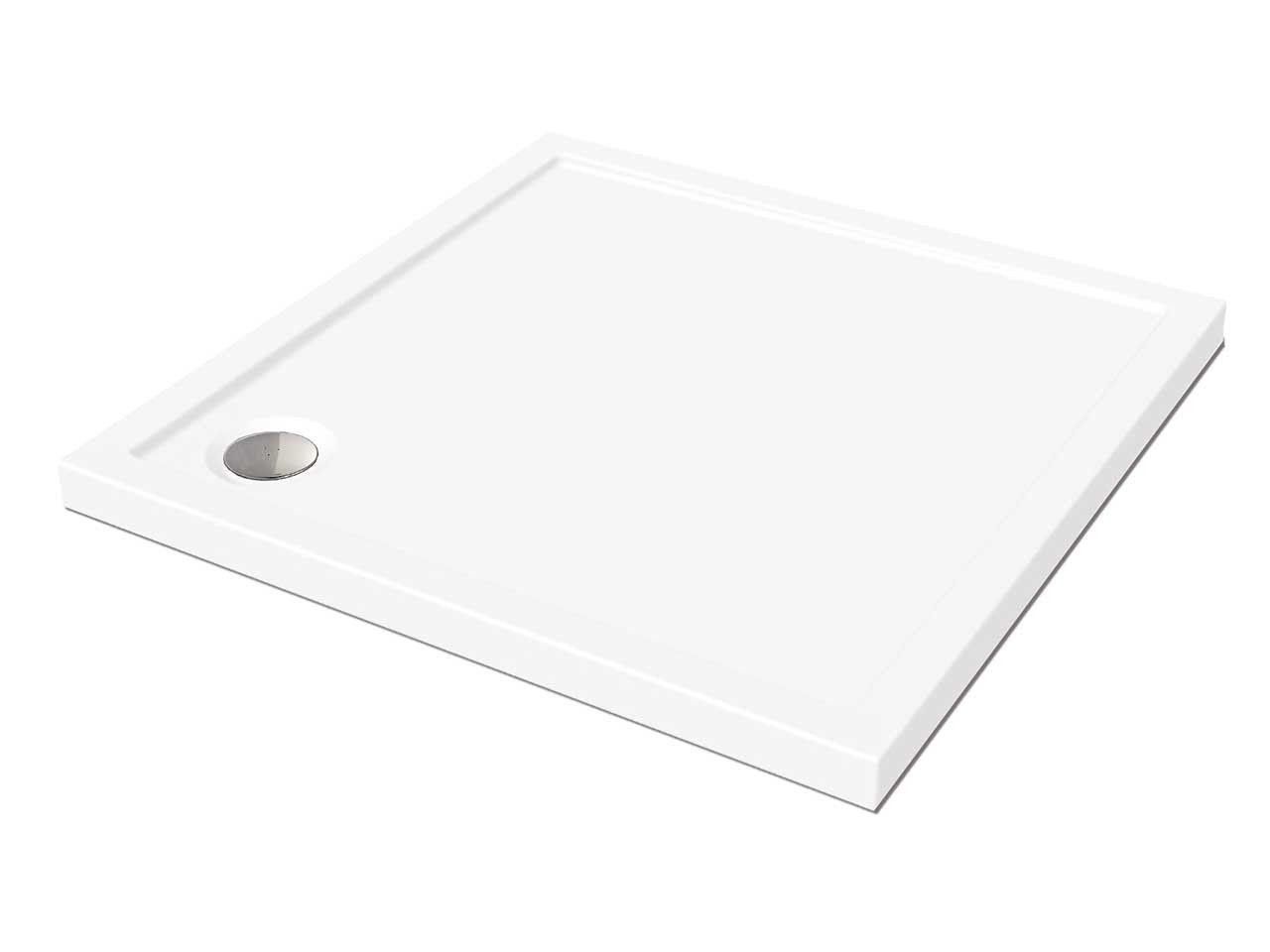 Piatto doccia flat 80x80 h5 bianco venduto da for Doccia iperceramica