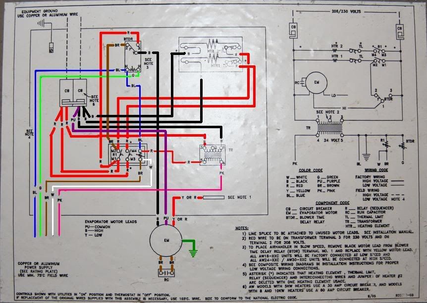 Goodman Ac Unit Wiring Diagram - basic electrical wiring theory on