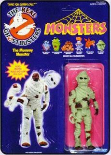 THE REAL GHOSTBUSTERS MONSTERS MUMMY ACTION FIGURE