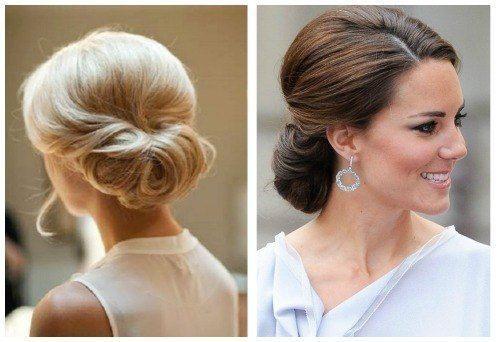 Diversión y halagos peinados invitadas bodas 2021 Fotos de los cortes de pelo de las tendencias - 30 Recogidos Bajos para Bodas - Diario de una Novia ...