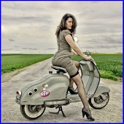 Français, homme, 48 ans, Scooter scooter girls fan of Lambretta – #ans #fan #Fr…