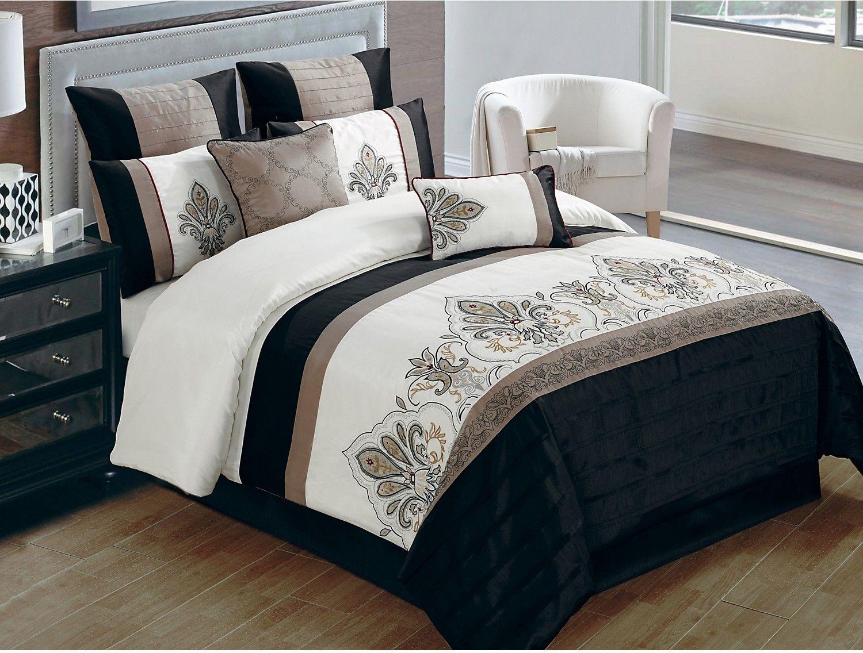 Jacobson 8 Piece Queen Comforter Set