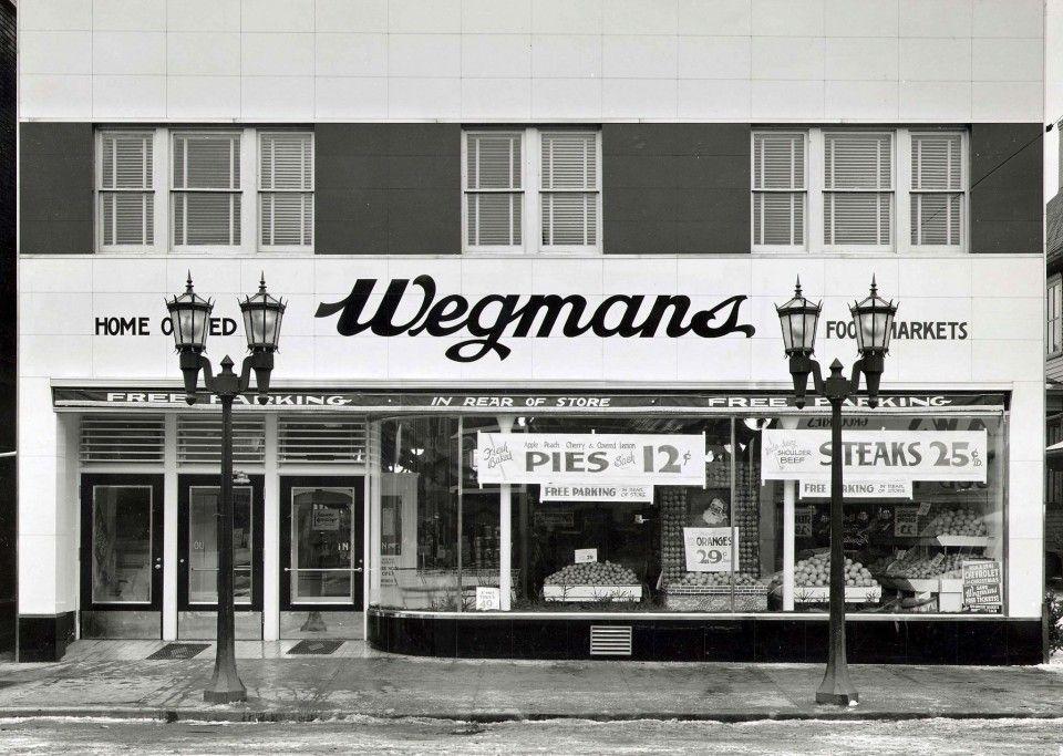 Vintage photos of giant weis and wegmans wegmans