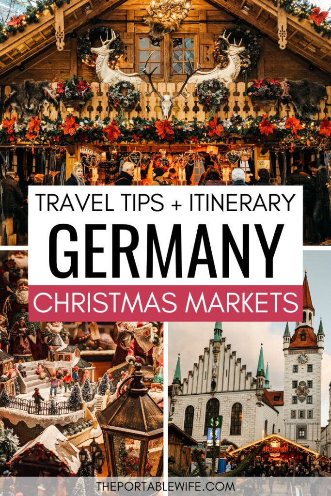 Christmas Markets in Germany by Train A Complete