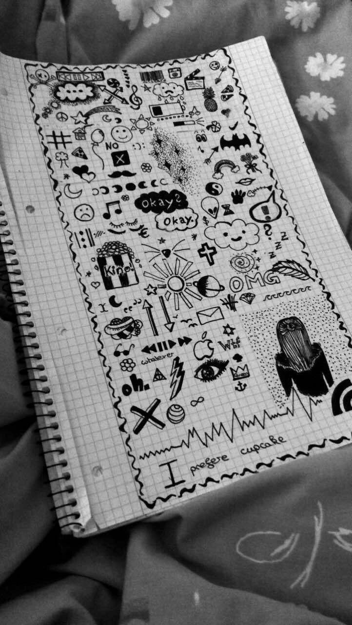 Artsy image by Samantha Hughes | Doodle art, Notebook ...