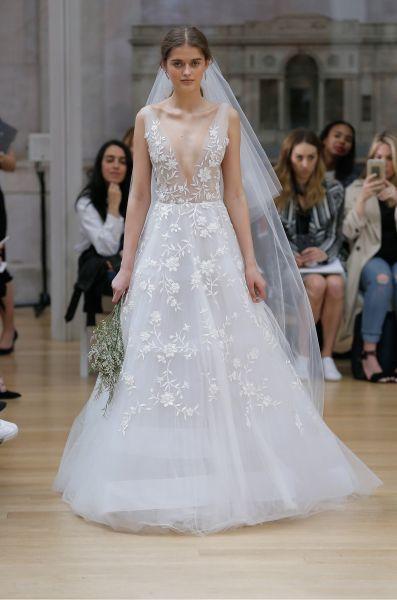 Robes de mariée Oscar de la Renta 2018 : des nouveautés pleines d ...