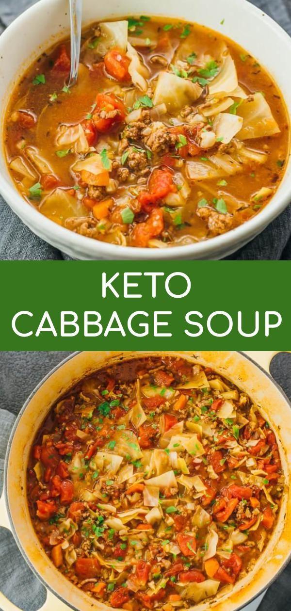 receta de dieta de sopa de col keto