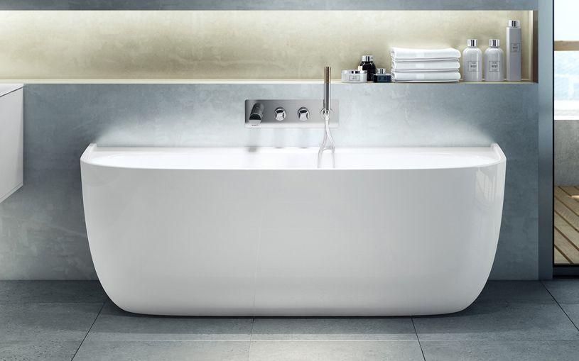 eldon | back to wall bath | bathtubs | victoria + albert baths usa