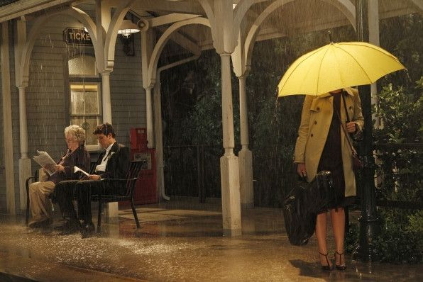 Yellow Umbrella How I Met Your Mother HIMYM TV Show Tracy Ted Mosby Costume Prop