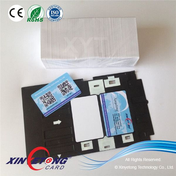 Epson T60 Pvc Id Card Tray Cards Nfc Sticker Rfid