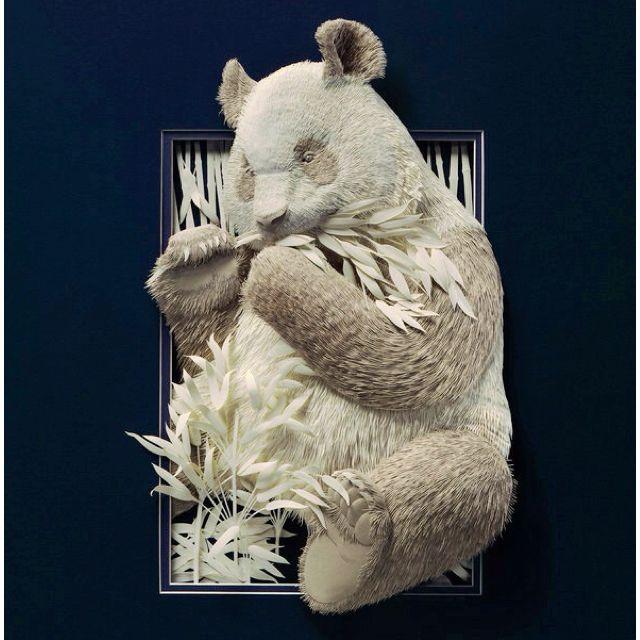 Things we covet: Paper sculptures by Calvin Nicholls.