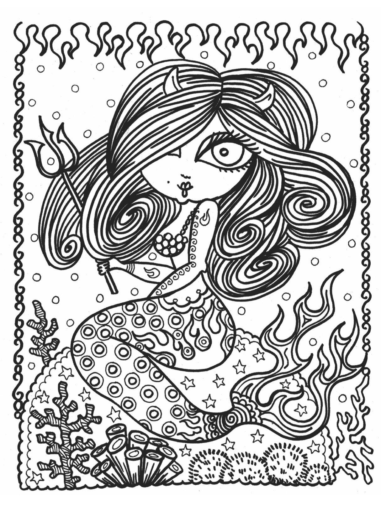 Mermaid Wonders A Mindful Coloring