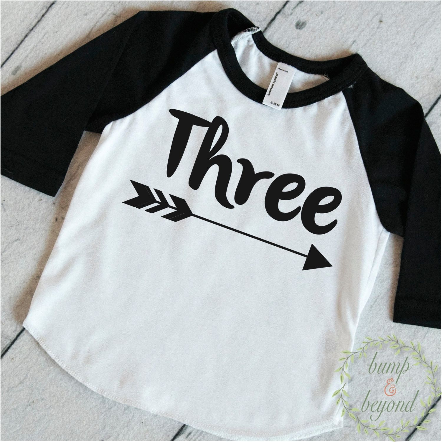 Embroidered Birthday Shirts Toddlers