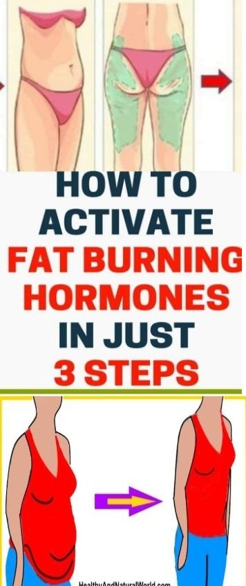 How to activate fat burning hormones