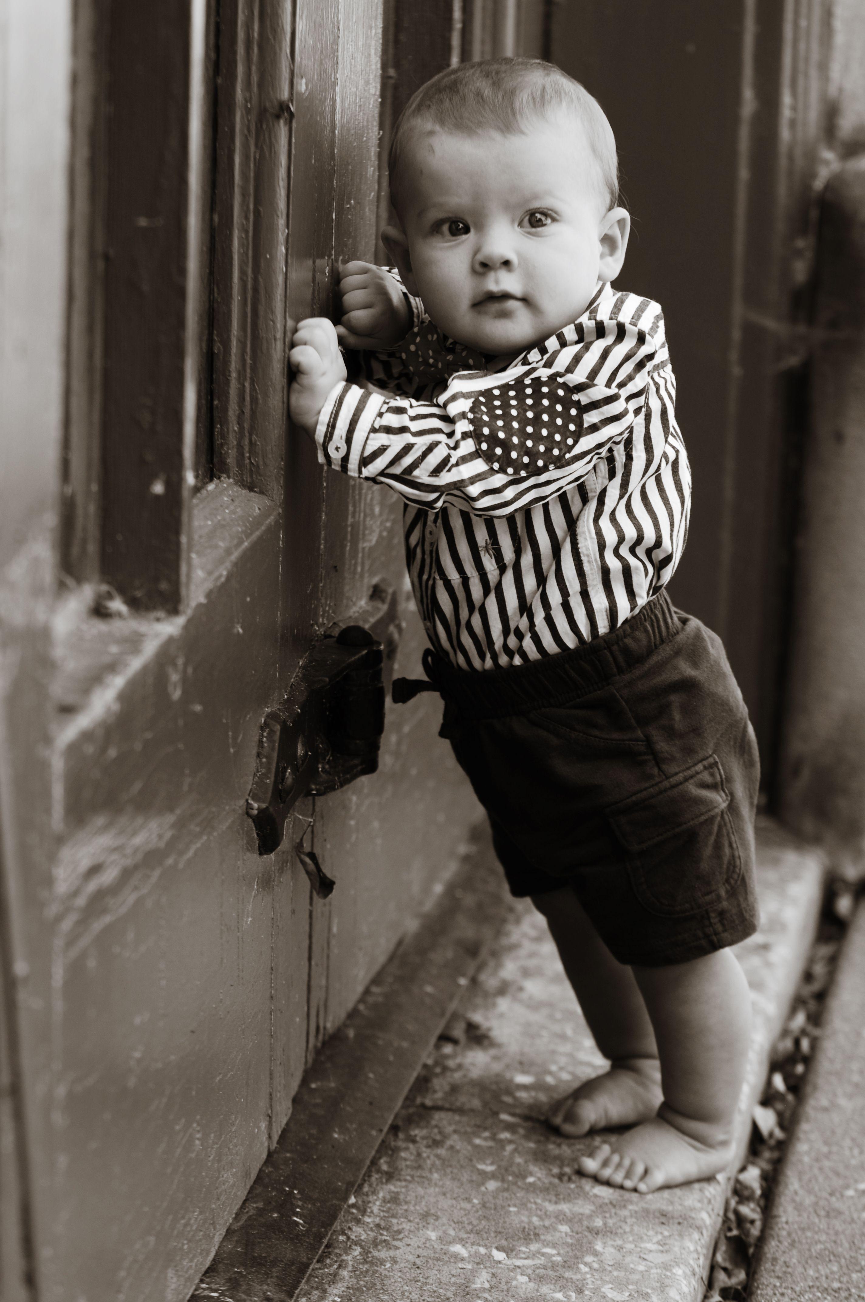 "Baby Boy Historic Village of East Davenport - Giraffe Photography  ""A Head Above the Rest"" www.giraffephoto.com"