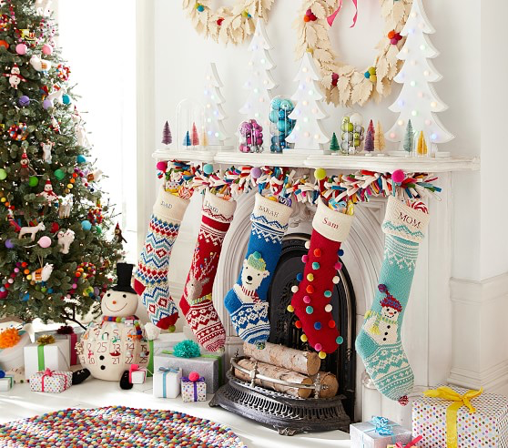 Merry Amp Bright Stocking Collection Christmas Diy