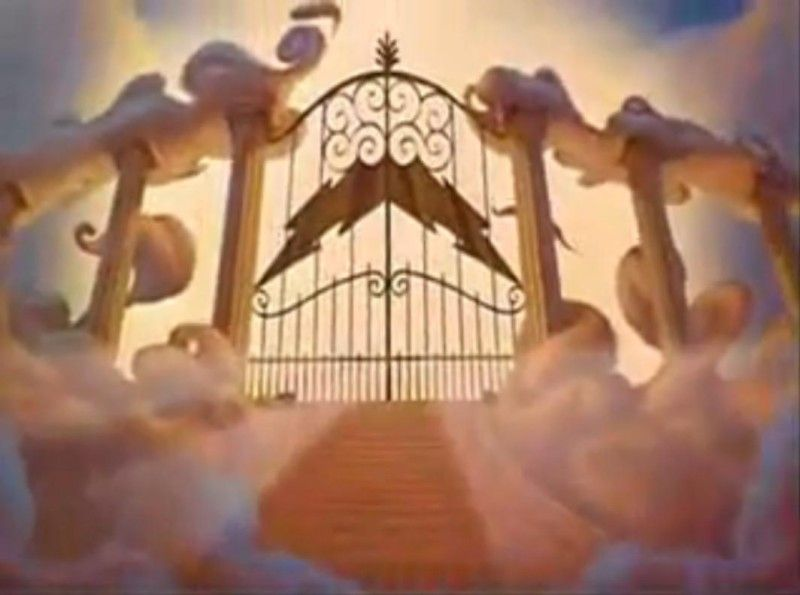 gates of mount olympus from disneys hercules greek