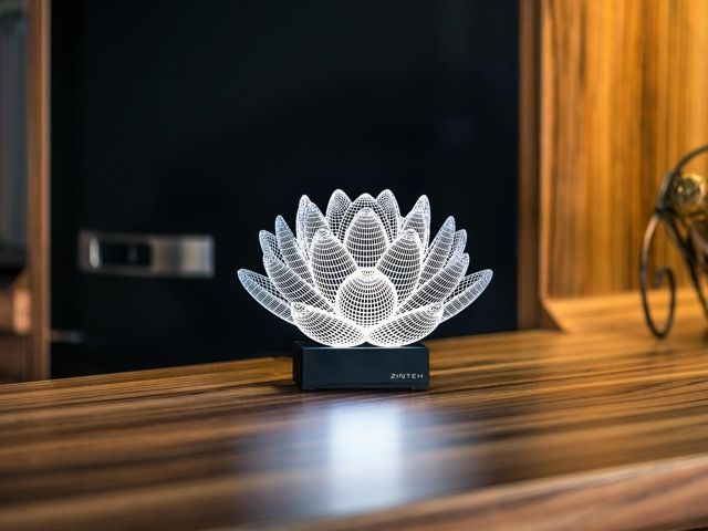 Lotus 3d Illusion Led Lamp 3d Led Lamp 3d Illusion Lamp Led Lamp