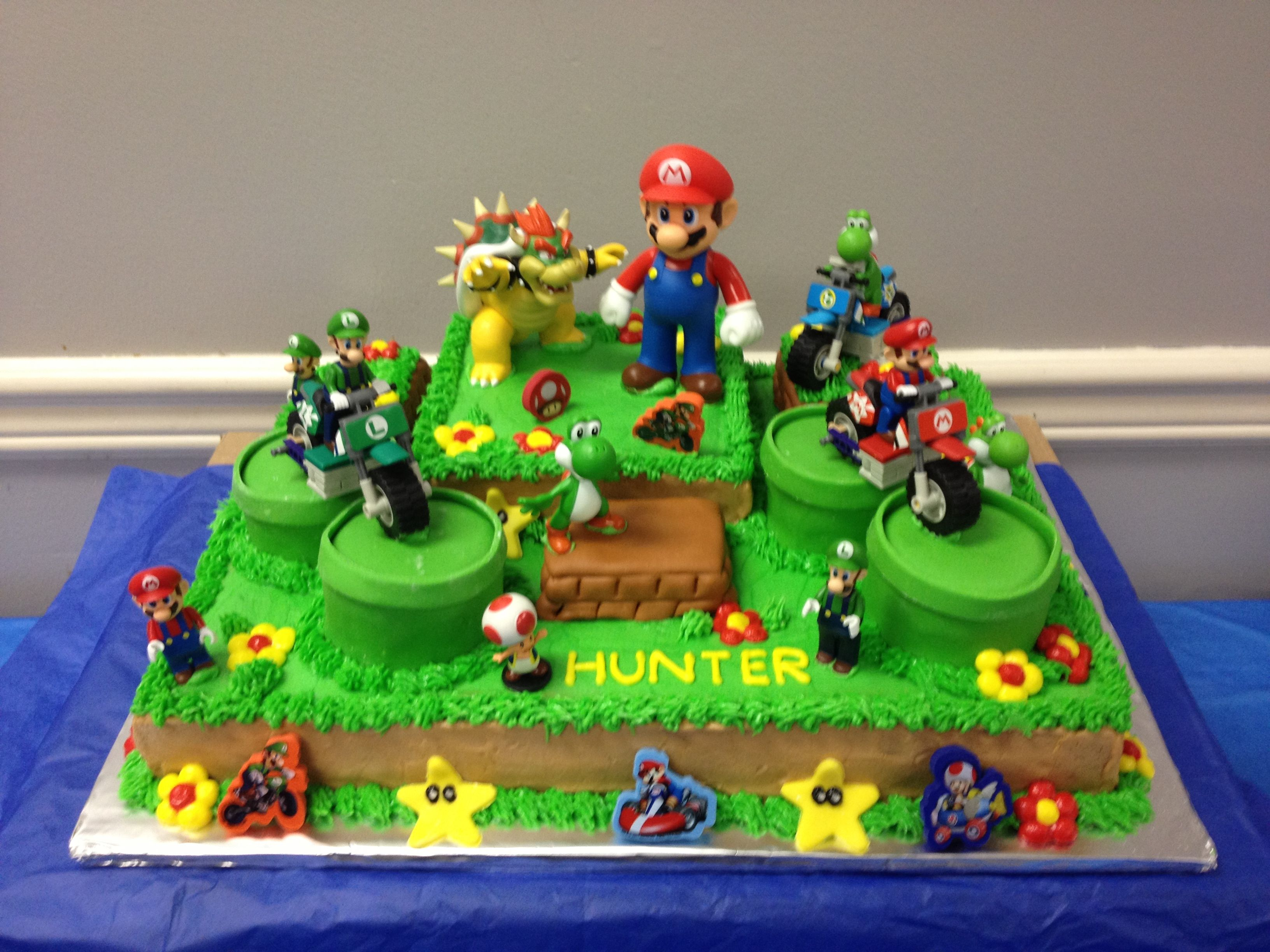 Mario cake mario birthday cake mario cake super mario