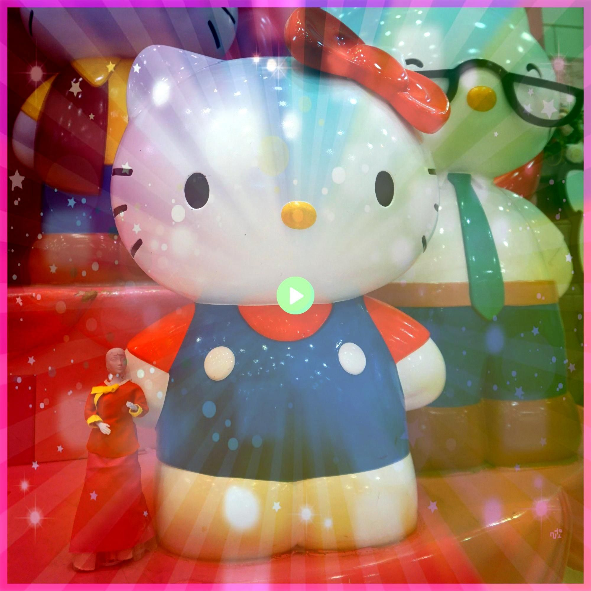 Happy Birthday to my lovely cute friend Hello Kitty   Happy Birthday to my lovely cute friend Hello Kitty   HELLO KITTY LOVELY LAVENDER BALLERINA 25cm LIMITED STOCK kelis...
