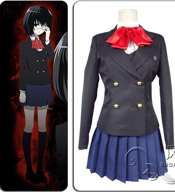 6c5f4dc4f3 Niños ropa más tamaño Otro Misaki Mei Akazawa Izumi chicas de uniforme  escolar japonés del anime del traje de cosplay Por Encargo
