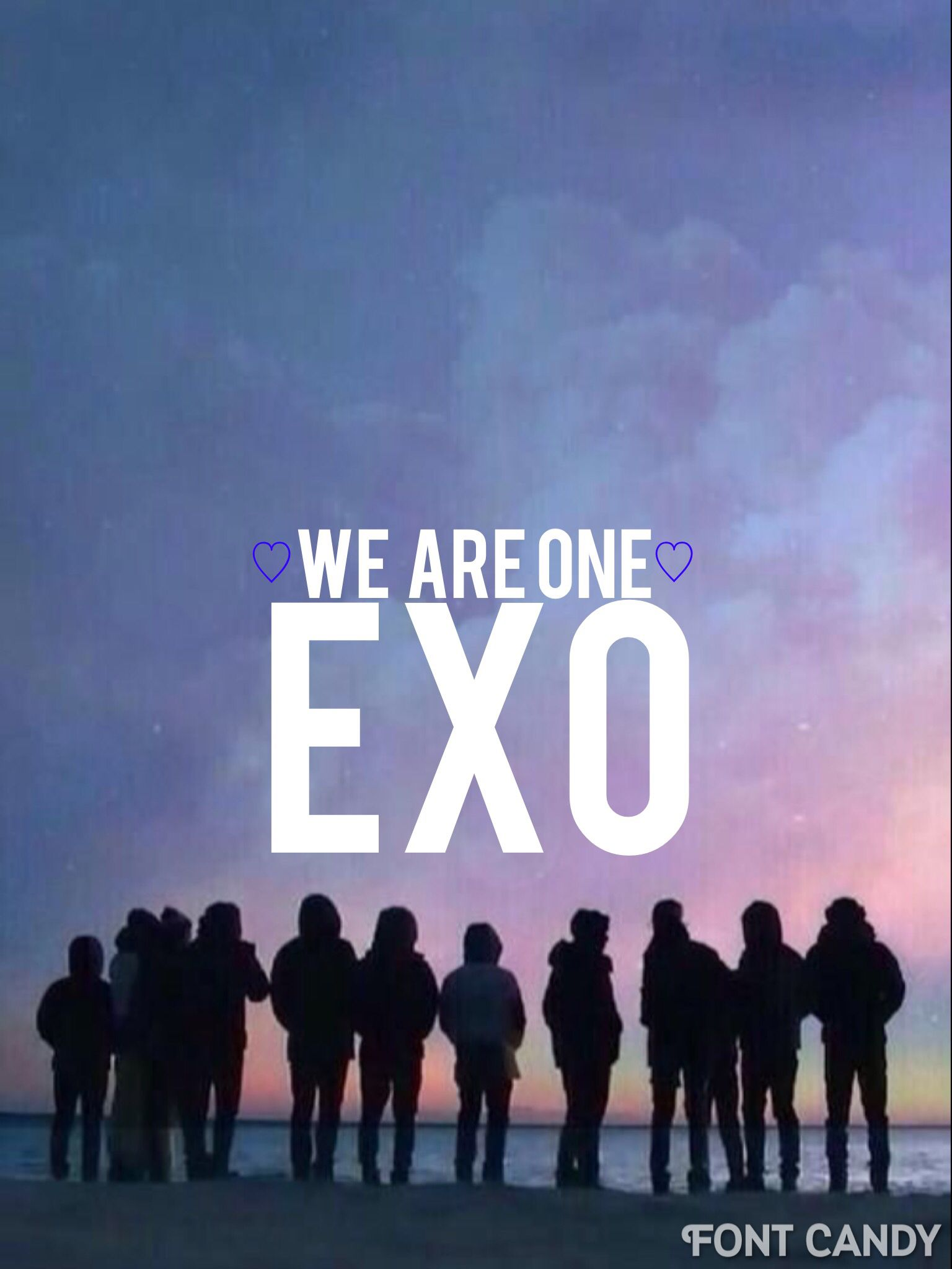 EXO WE ARE ONE ♡♡ | EXO - Wallpapers/lyrics/quotes