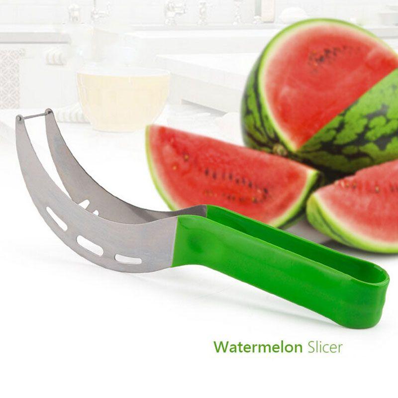 Kitchen Fruit Divider Melon Cantaloupe Watermelon Plastic Cutter Slicer Tool