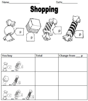 giving change worksheet maths primary teaching resources teaching resources primary. Black Bedroom Furniture Sets. Home Design Ideas