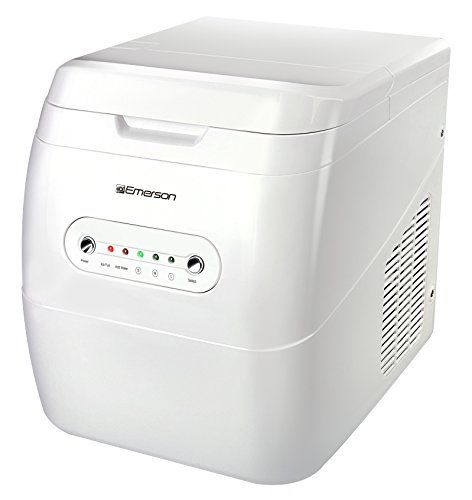 Emerson Im92w Portable Ice Maker White Portable Ice Maker Ice