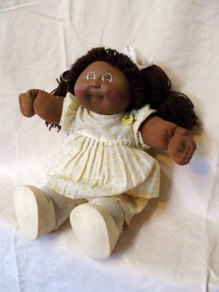 1982 Cabbage Patch Kids Girl Doll African By Orphanedtreasure And I Got Her And Still Have He Cabbage Patch Kids Dolls Cabbage Patch Dolls Cabbage Patch Kids