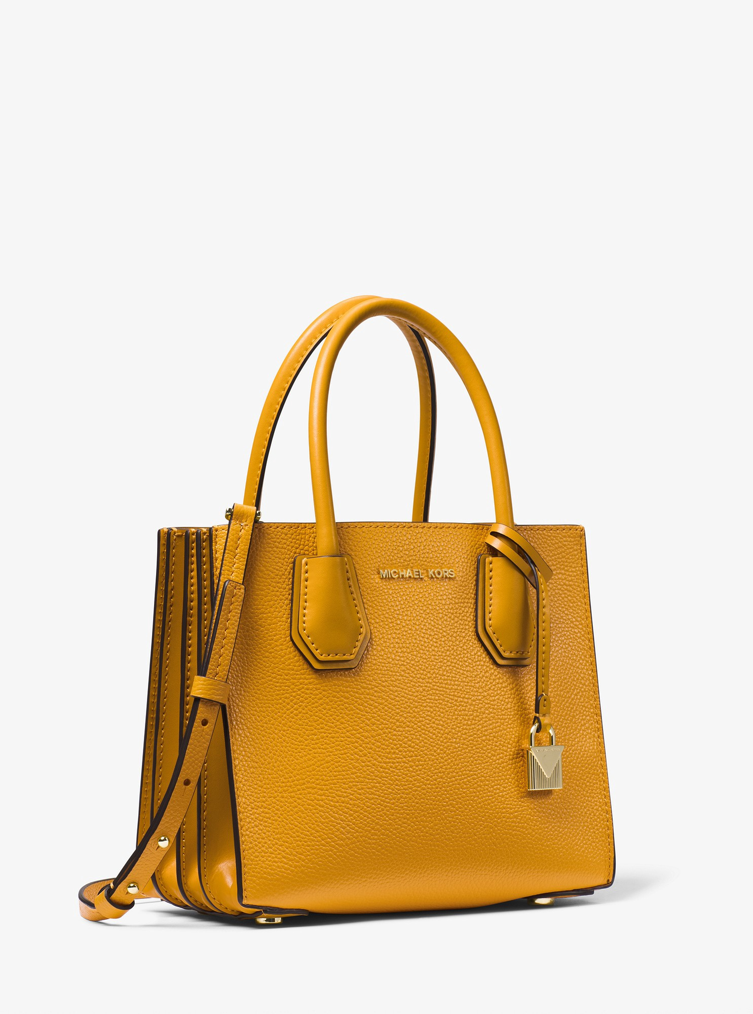 1814c37670b49 Mercer Pebbled Leather Accordion Crossbody by Michael Kors in 2019 ...