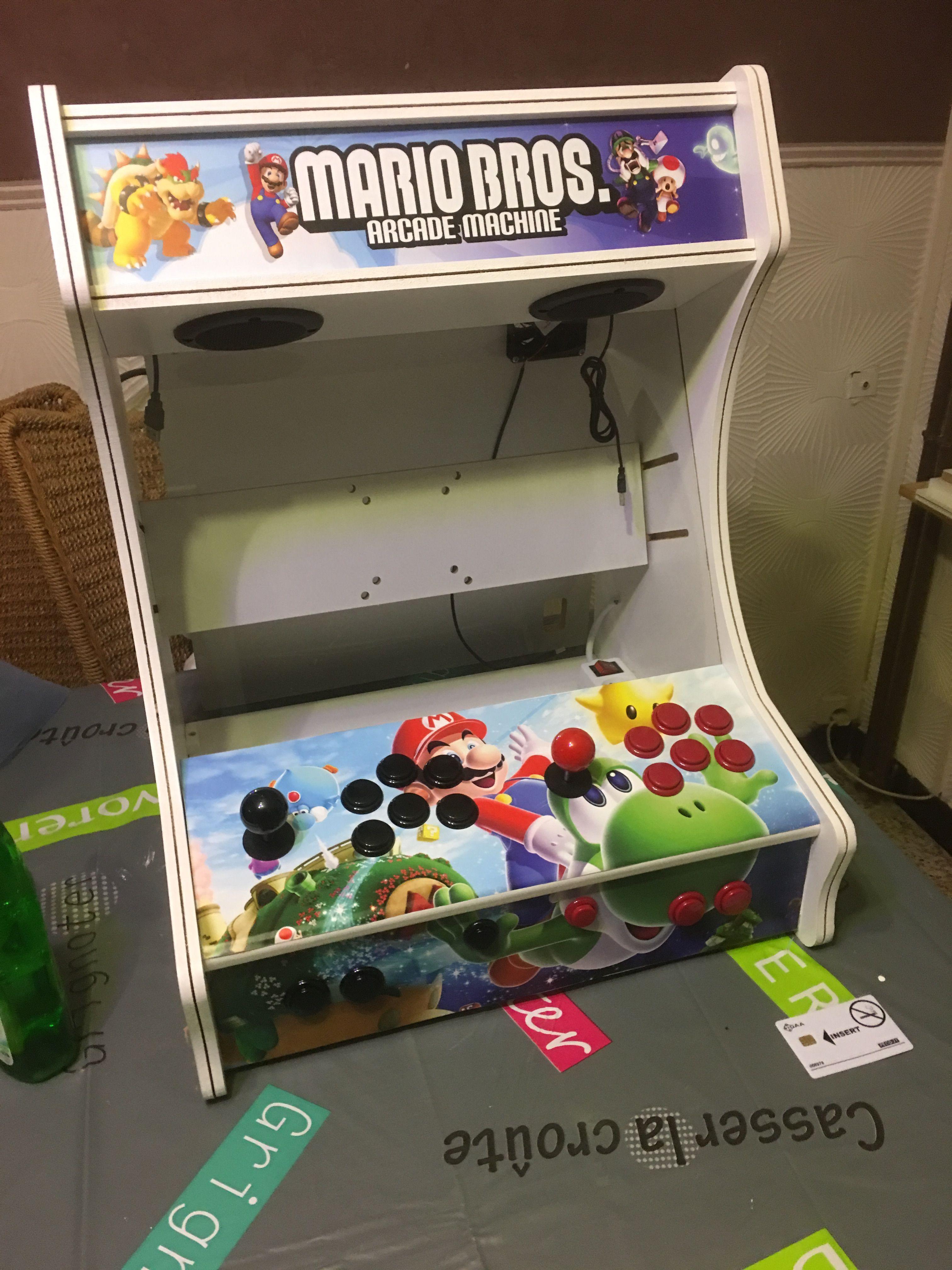 borne arcade facebook