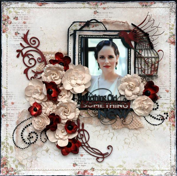 Layout: Something Old Something New***OUAS***Scrap FX