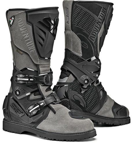Photo of Sidi Adventure 2 Gore Motorcycle Boots Gray 39