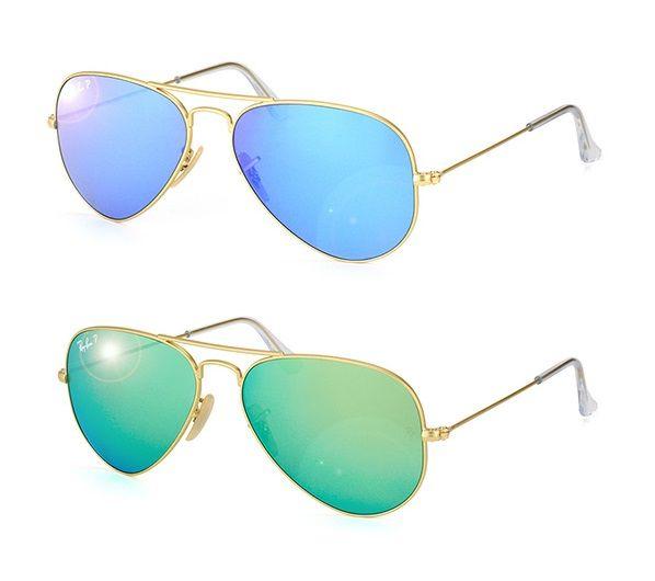 Ray Ban Aviator Polarized Mirror Lenses   Sunglasses for everyone ... 3233c1e44e51